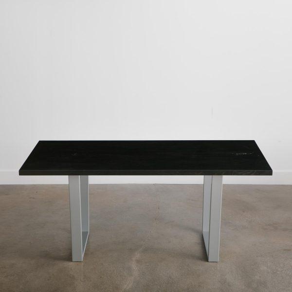 black-wood-dining-table