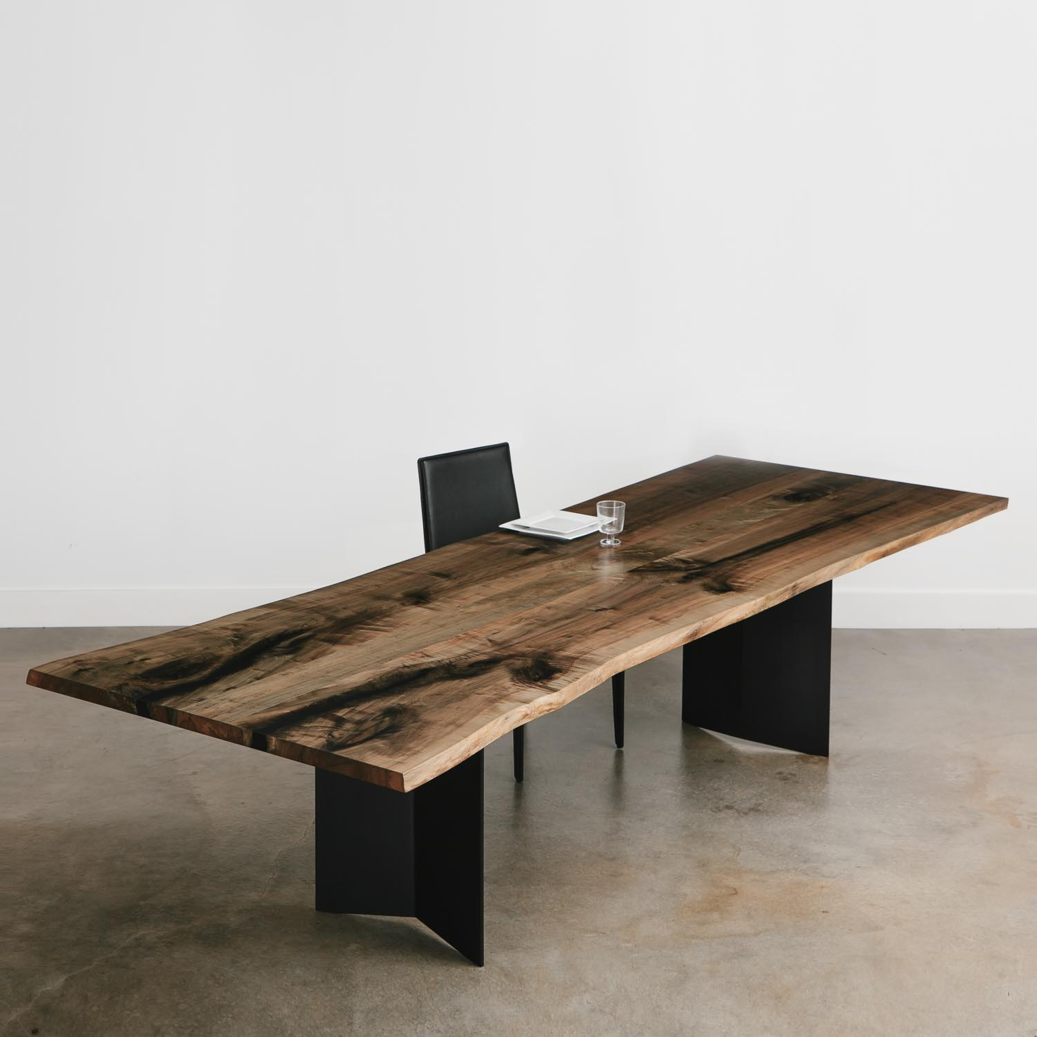 Extra Large Dining Room Table: 10 Foot Extra Large Live Edge Wood Dining Room Table