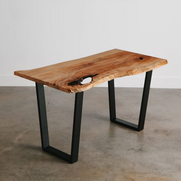small-live-edge-maple-slab-dining-table