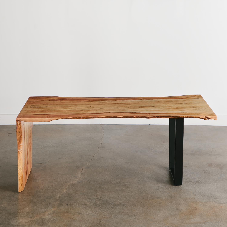 Live Edge Coffee Table Amazon: Maple Desk - Elko Hardwoods
