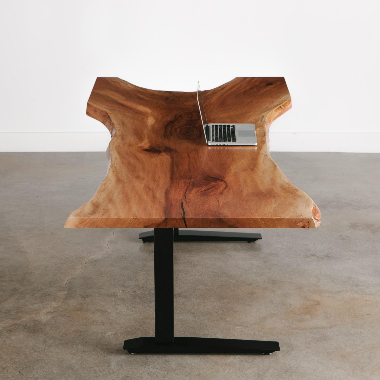 Live Edge Coffee Table Amazon: Sycamore Desk - Elko Hardwoods