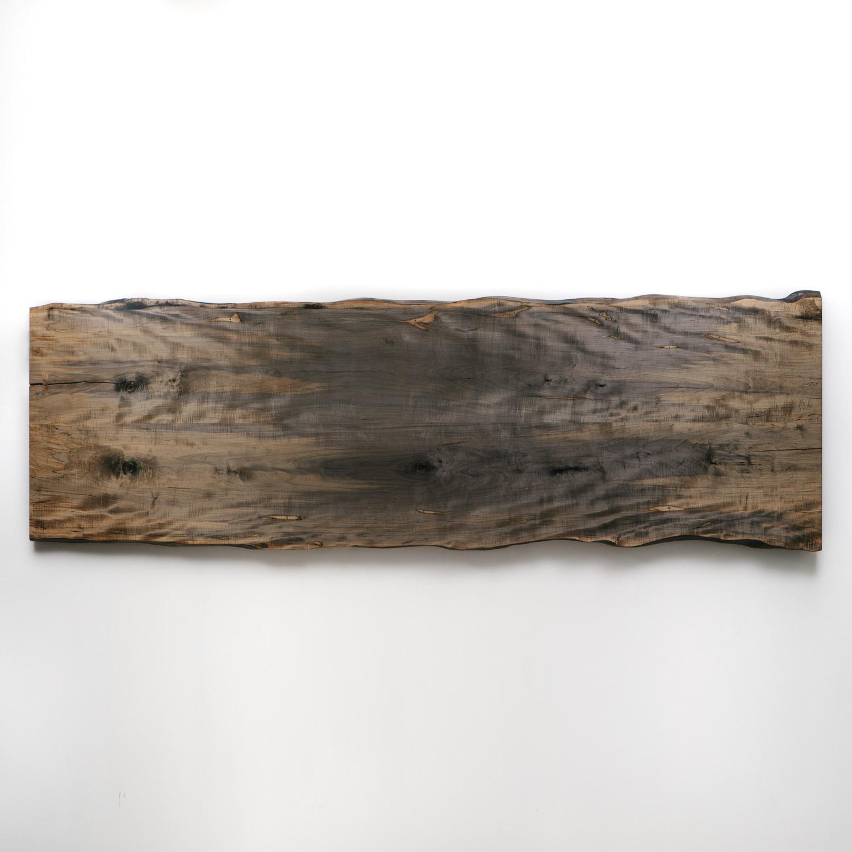 Live Edge Coffee Table Amazon: Ebonized Maple Conference Table - Elko Hardwoods