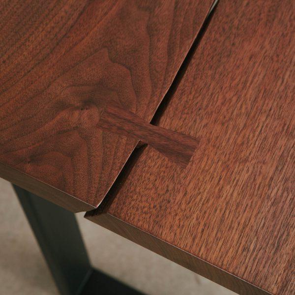 Walnut wood slab with butterfly joint Elko Hardwoods
