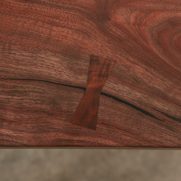 Live edge butterfly joint Elko Hardwoods furniture store