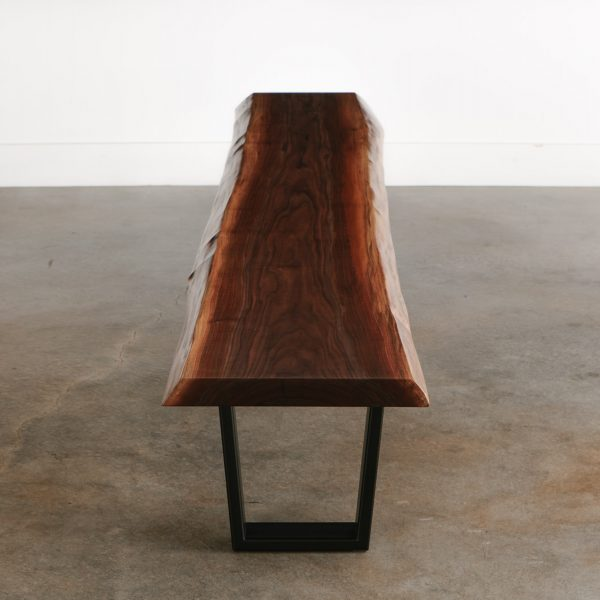 walnut-slab-bench