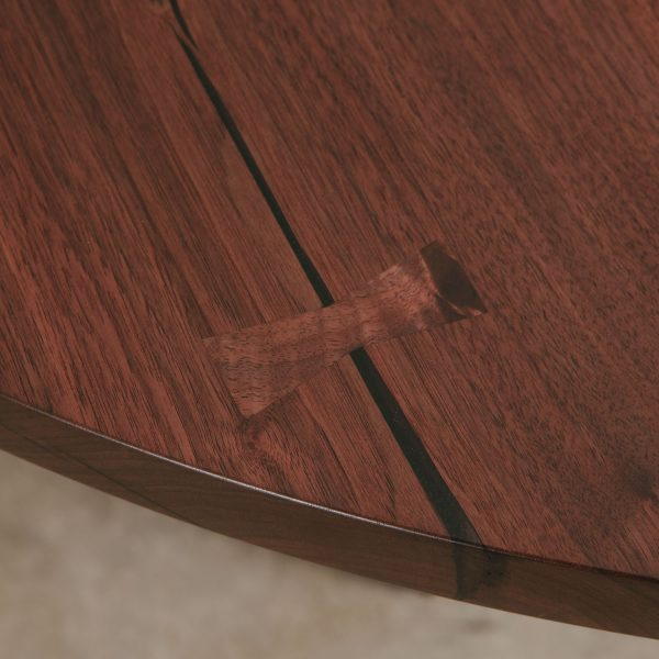 Handmade walnut with butterfly joint Elko Hardwoods
