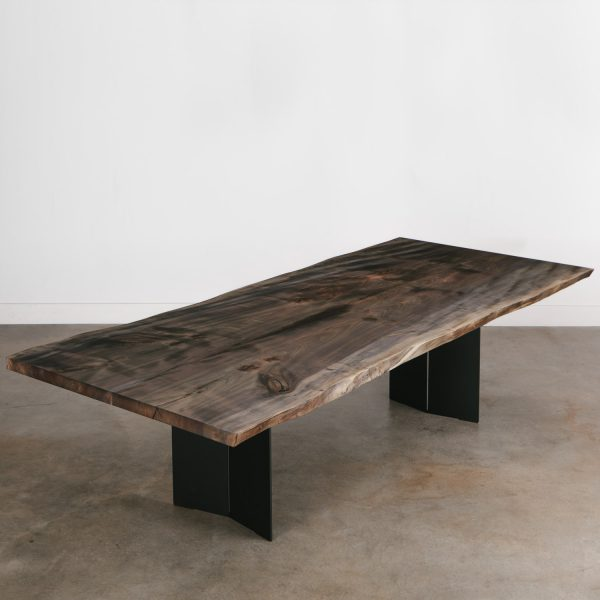Custom live edge conference table