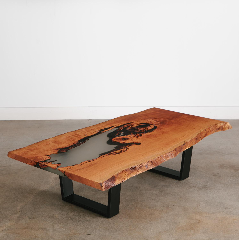 Cherry Coffee Table.Cherry Coffee Table Elko Hardwoods Modern Live Edge Furniture