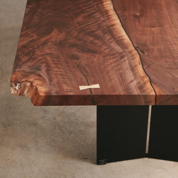 walnut-dining-table-brass-butterfly