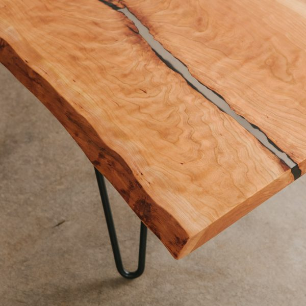 live-edge-cherry-bench-detail