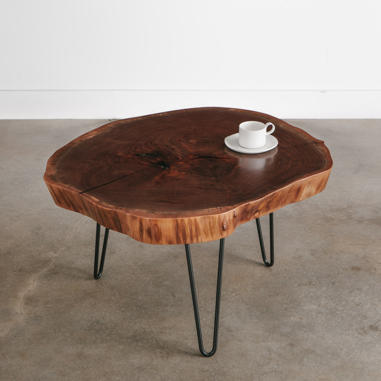 - Walnut Coffee Table No. 239 Elko Hardwoods Modern Live Edge