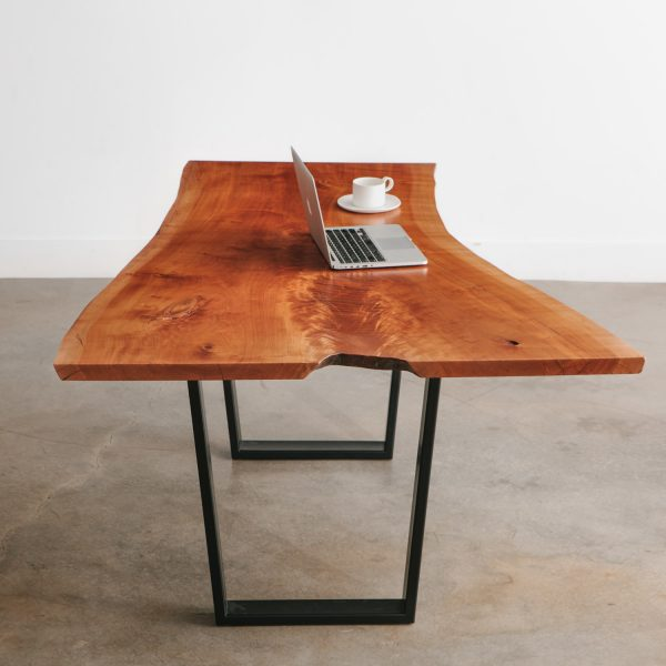 live-edge-cherry-desk-trapezoid-base