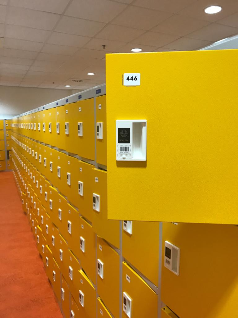IoT Smart lockers
