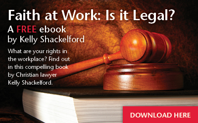 Faith at Work: Is it Legal? Free eBook