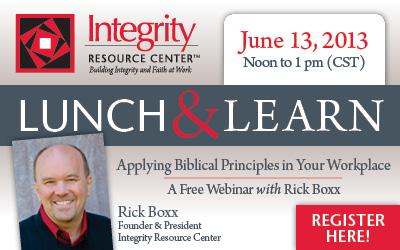 Free Lunch & Learn Webinar