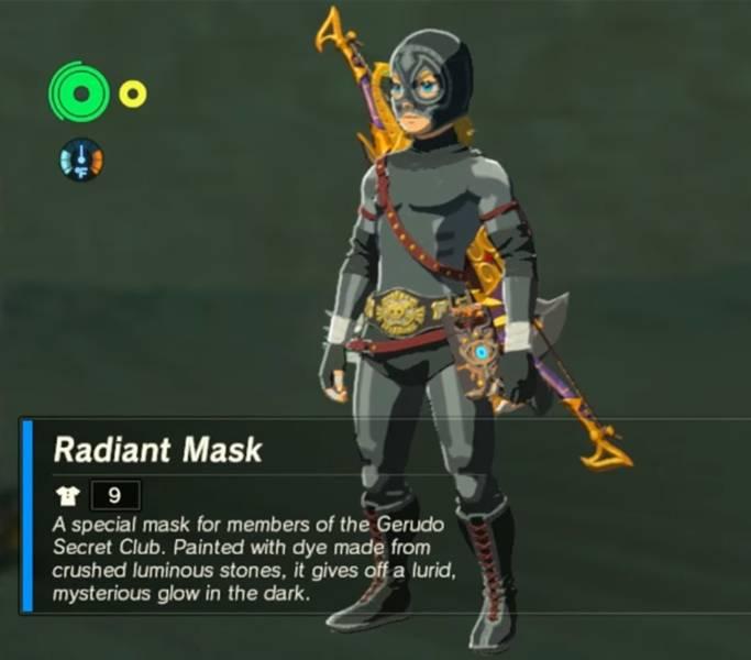 The Legend Of Zelda Breath Of The Wild Radiant Armor