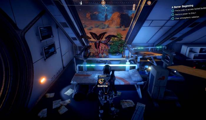 Mass effect andromeda main mission walkthrough a better from the damaged turbine proceed forward and make a right to enter the last station inside the station head for the next room to find a datapad on the malvernweather Choice Image