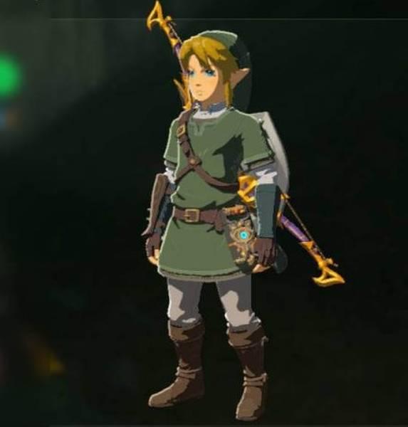 the legend of zelda breath of the wild hero of twilight armor set