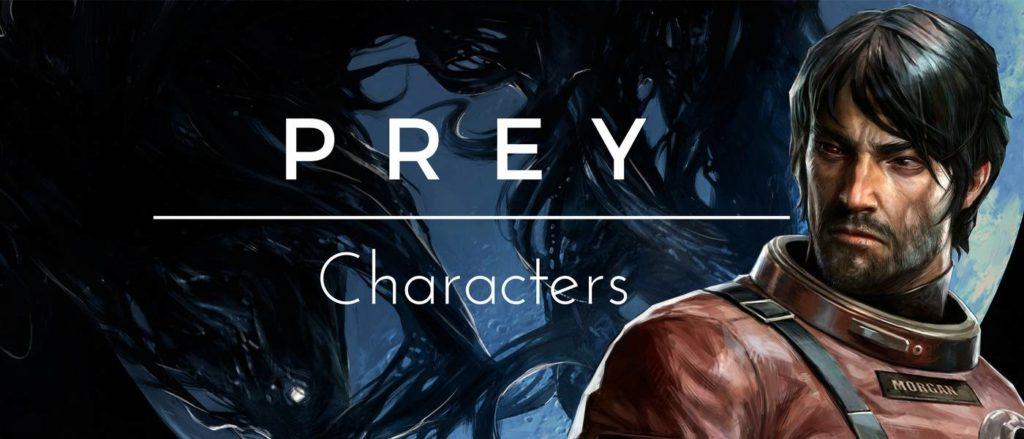 prey characters
