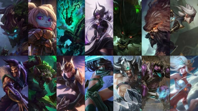 League of Legends Free Champion Rotation for October 10