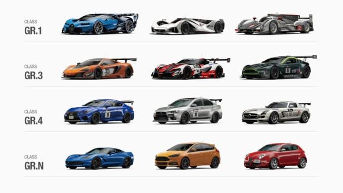 Gran Turismo Sport Gt Sport Gran Turismo Sport Car List Revealed