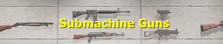 PUBG Submachine Gun (SMG)