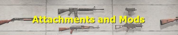 PUBG Attachments and Mods