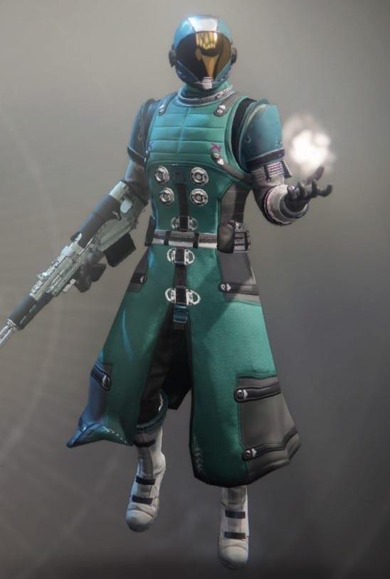 Lost Pacific Warlock Armor
