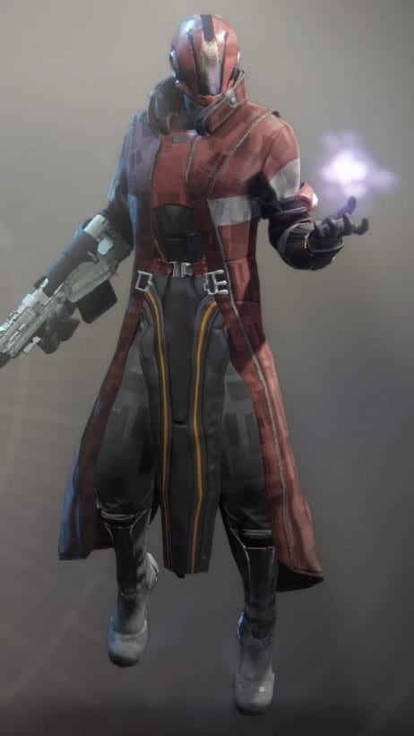 Exodus Down Warlock Armor Set