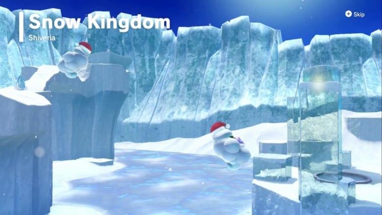 Snow Kingdom: Walkthrough