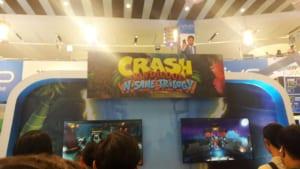 Crash Bandicoot N. Sane Trilogy Booth