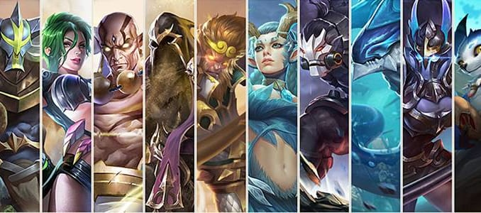 Arena of Valor Character related Glossary