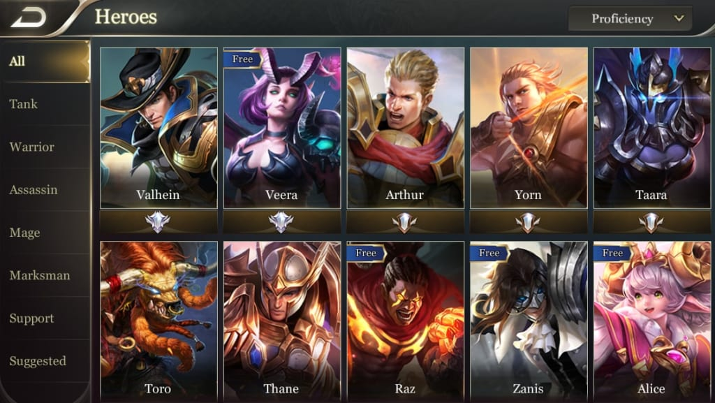 Image result for aov heroes
