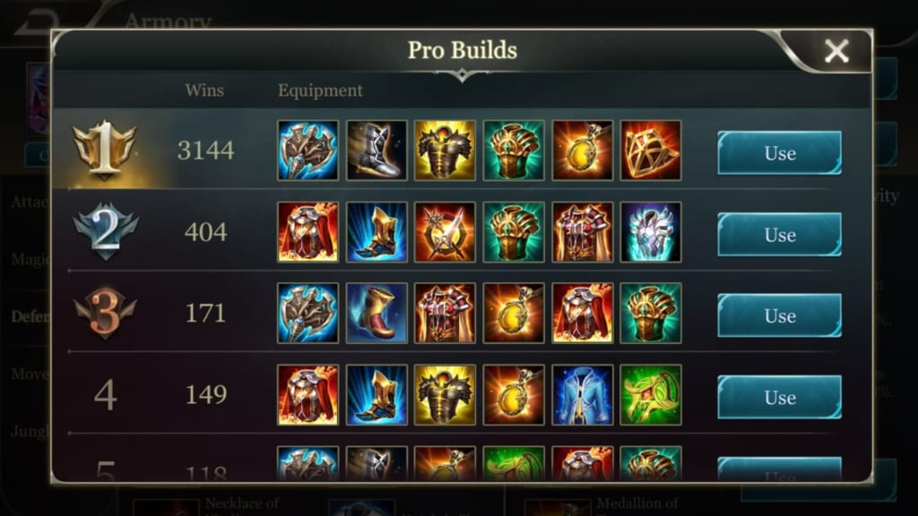 Arena of Valor Armory 7