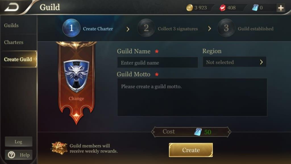 Arena of Valor Guilds 5