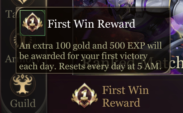 Arena of Valor First Win