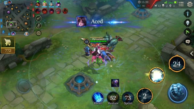 Arena of Valor Match Guide - Defeating All Enemies