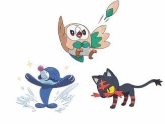 generation 7 starter pokemon