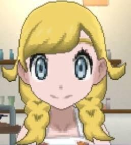 Girl Gold Hair