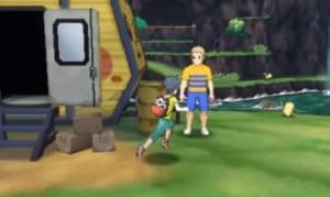 Ash's Pikachu Delivery Man