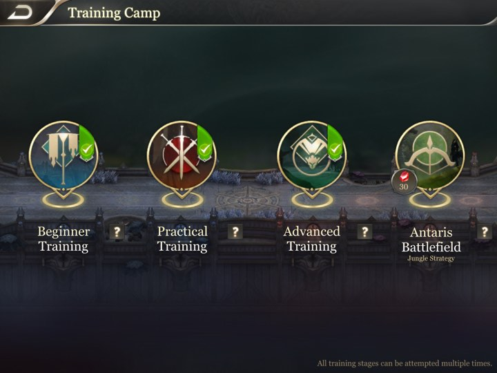 Arena of Valor Training Camp 2