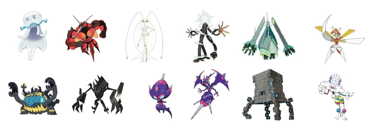 pokemon ultra sun and moon ultra beasts locations list guide