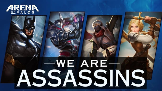Arena of Valor Assassin Heroes