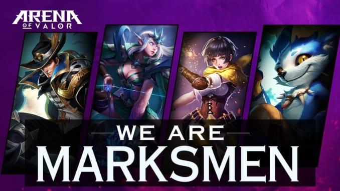 Arena of Valor Marksman Heroes