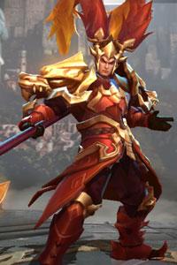 Arena of Valor Crimson Lu Bu