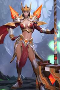 Arena of Valor Holy Warhammer Taara