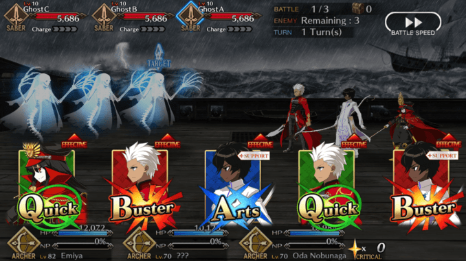 FGO BATTLE