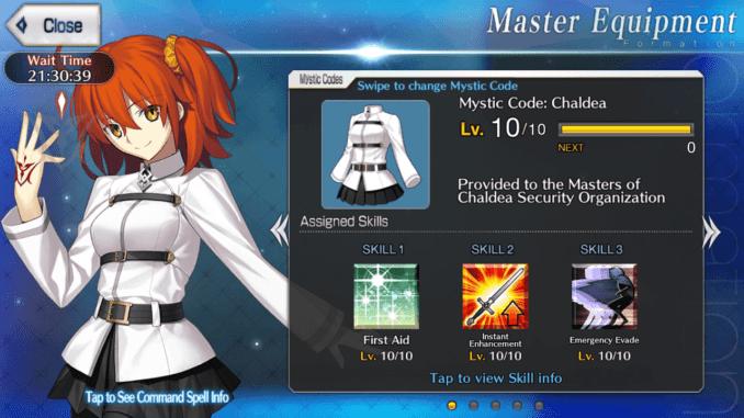 Chaldea Mystic Code