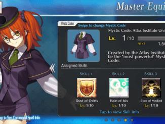 Atlas Academy Uniform Mystic Code