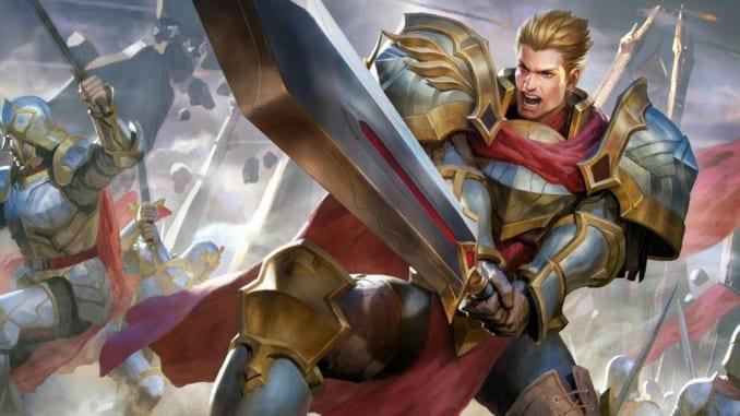 Arena of Valor Warrior Hero Arthur